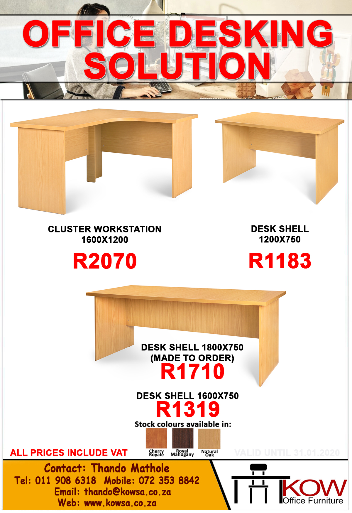 Office Desking Solution
