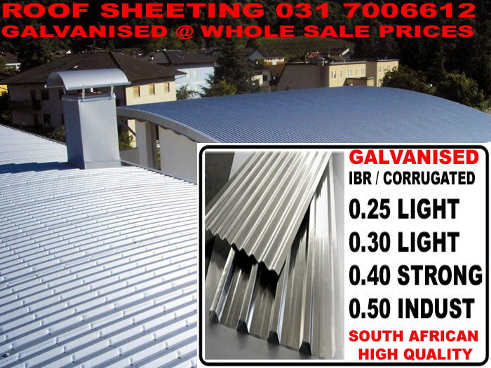 Roof Sheets Durban Kzn Open To Public At Factory Prices Cut New To