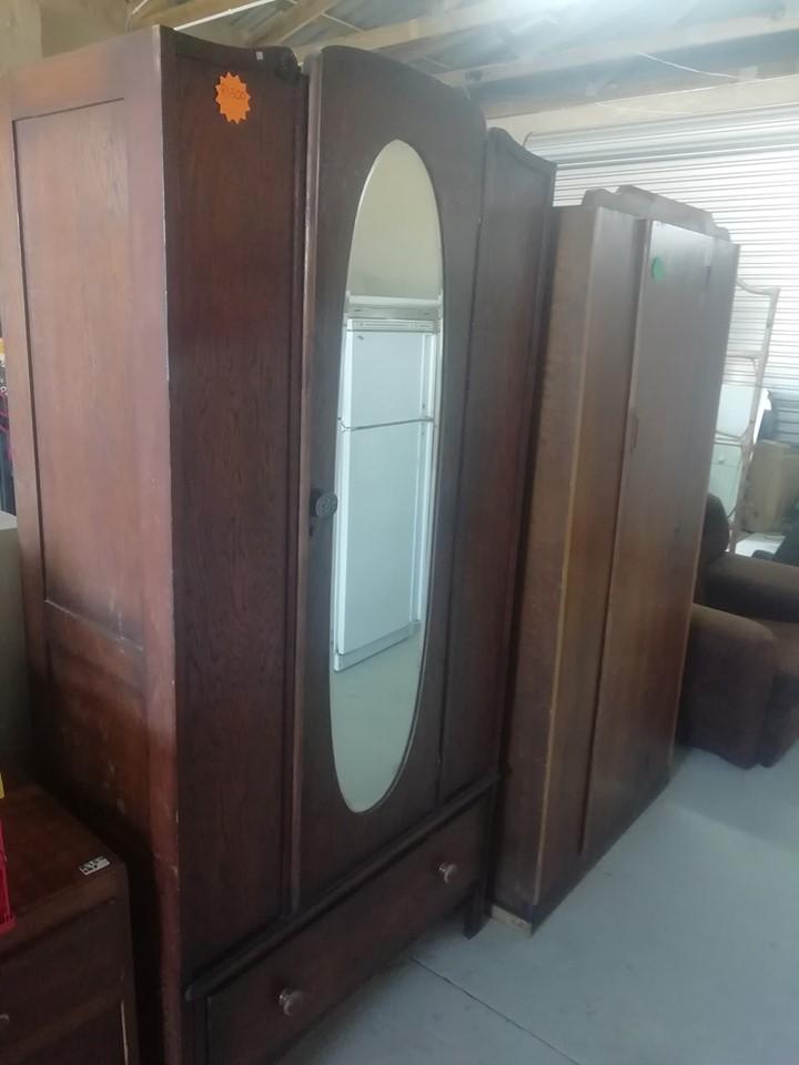 Vintage cupboard with mirror