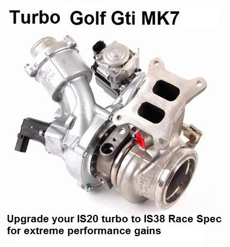 VW MK7 GTi or Audi Gen3 IS20 Turbo Upgraded to IS38 Spec Turbo