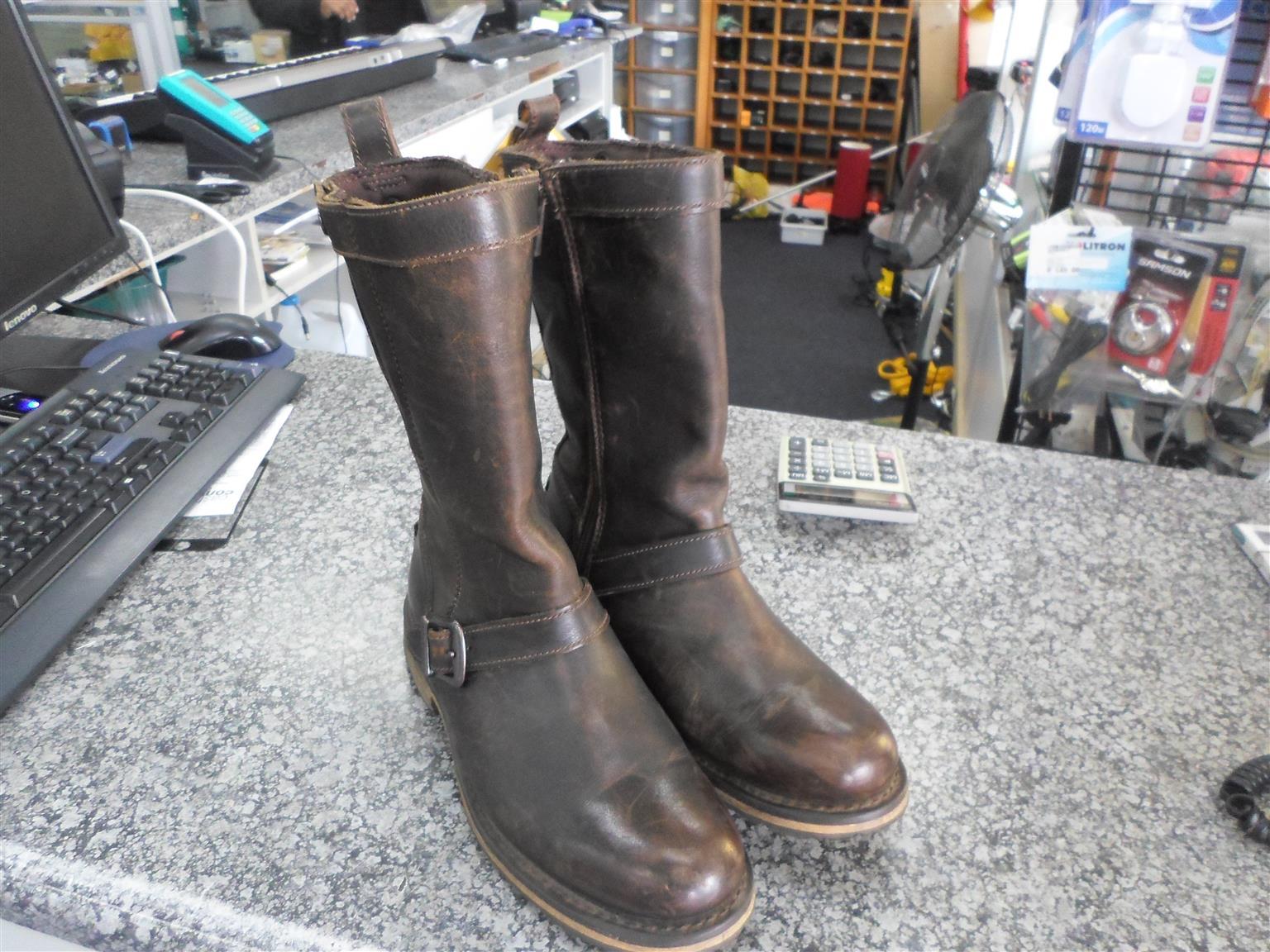 USA Size 8 Harley  Davidson Motorcycle Boots