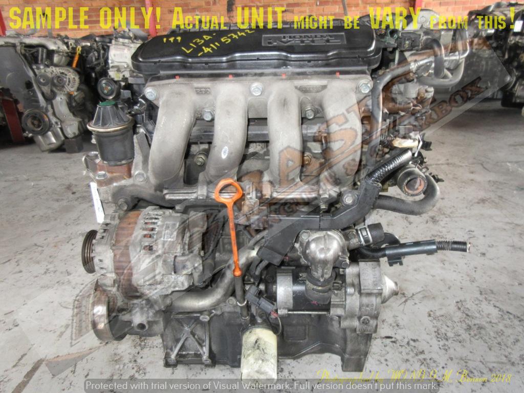 HONDA FIT / JAZZ -L13A 1 3L i-VTEC Engine (4 Coils)   Junk Mail