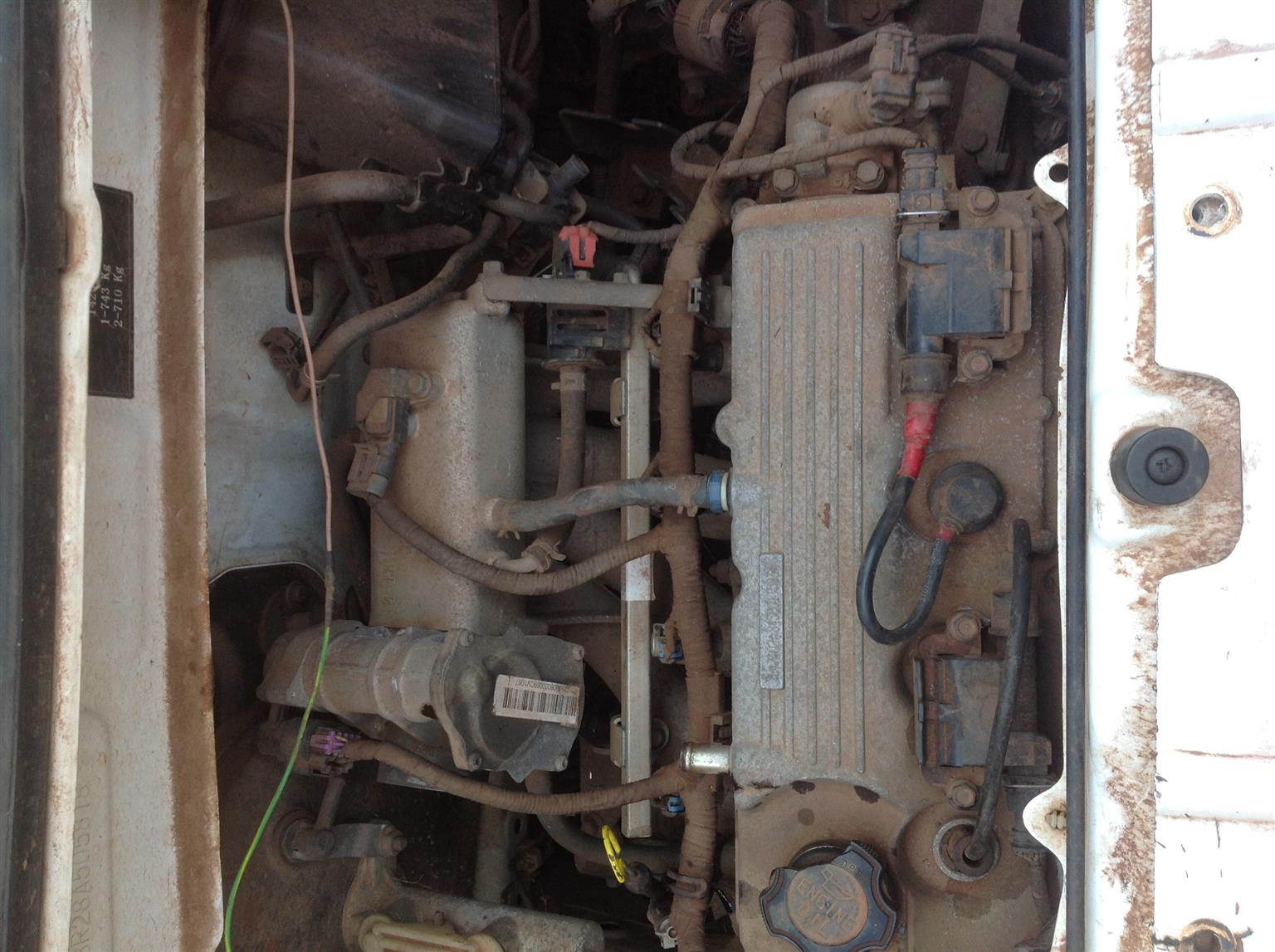 Stripping Chana Benny 2007 for Spares