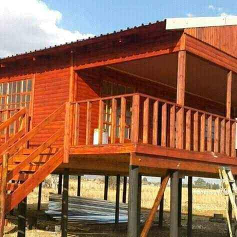 All types of Wendy Houses and Log Cabins at affordable prices