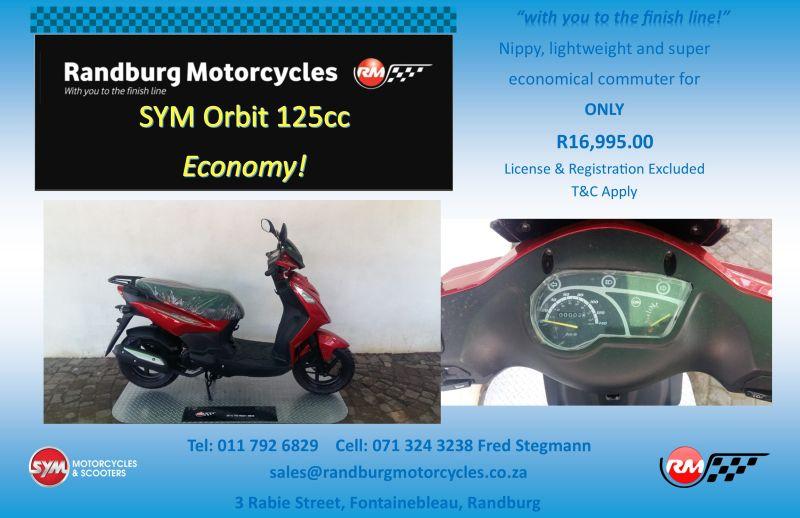 2020 Sym ORBIT II 125