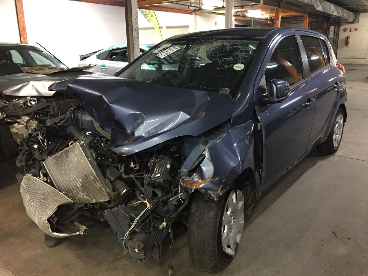 Accident damaged Hyundai I20 for sale