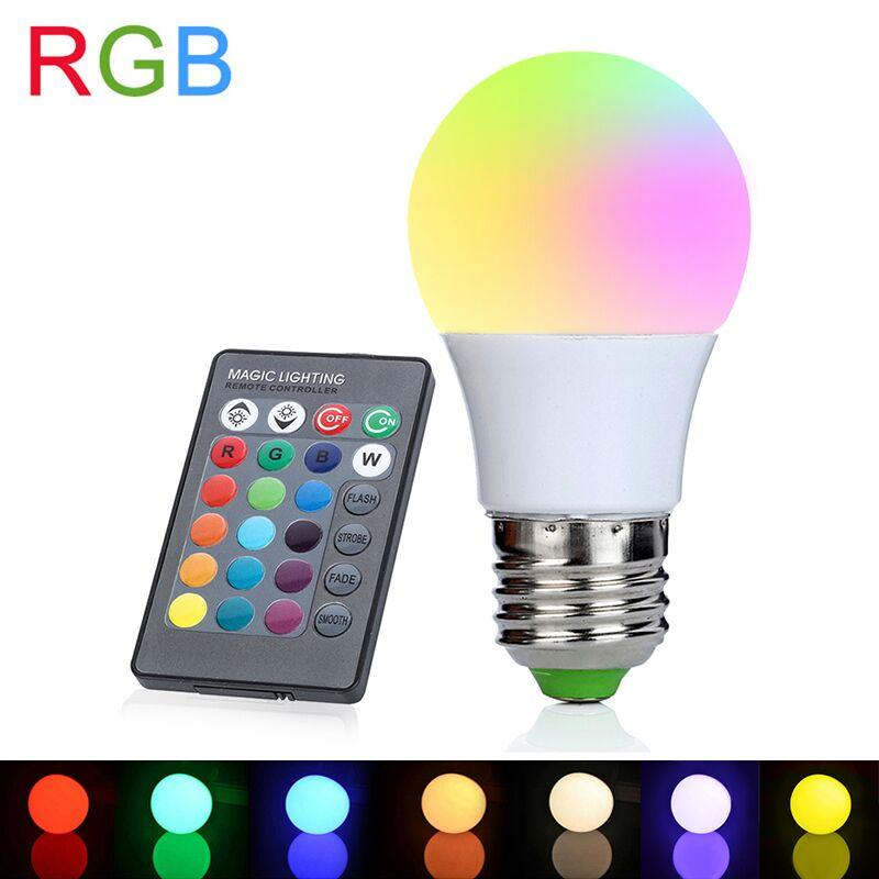 Led Light Bulbs Colour Changing Led Rgb Light Bulb With Wireless