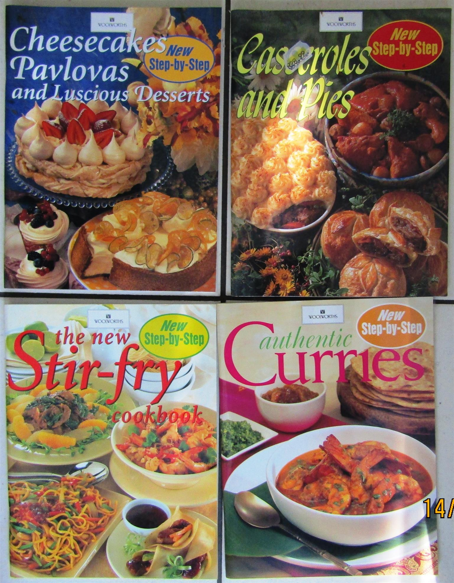 Woolworths - New Step-by-Step Recipe Magazines