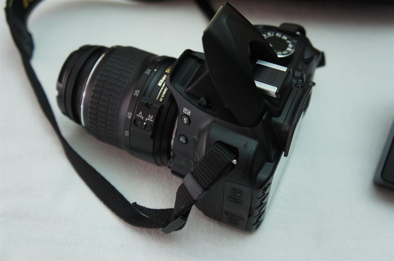 Nikon D3100 SLR camera