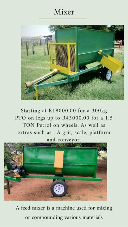 Feedmixers for sale