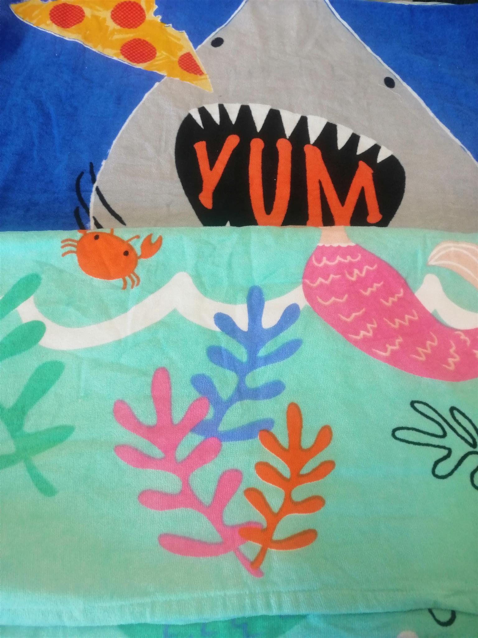 KIDDIES BEACH TOWELS