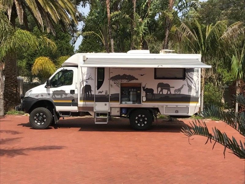 4 x4 Motorhome /Camper 2016 Iveco Daily MPV/Bus