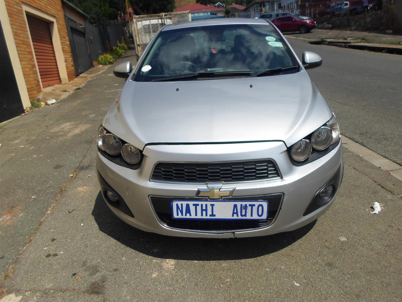 2012 Chevrolet Sonic hatch 1.4T RS