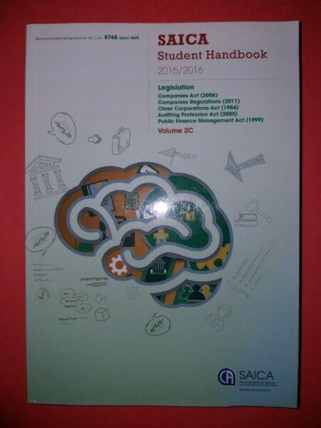 SAICA Student Handbook 2015/2016 Volume 2C - LexisNexis.