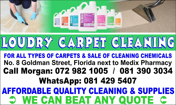 CARPET CLEANING & CHEMICALS FOR SALE