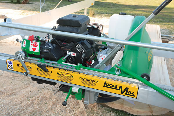 Portable Lucas sawmill Model 8-30