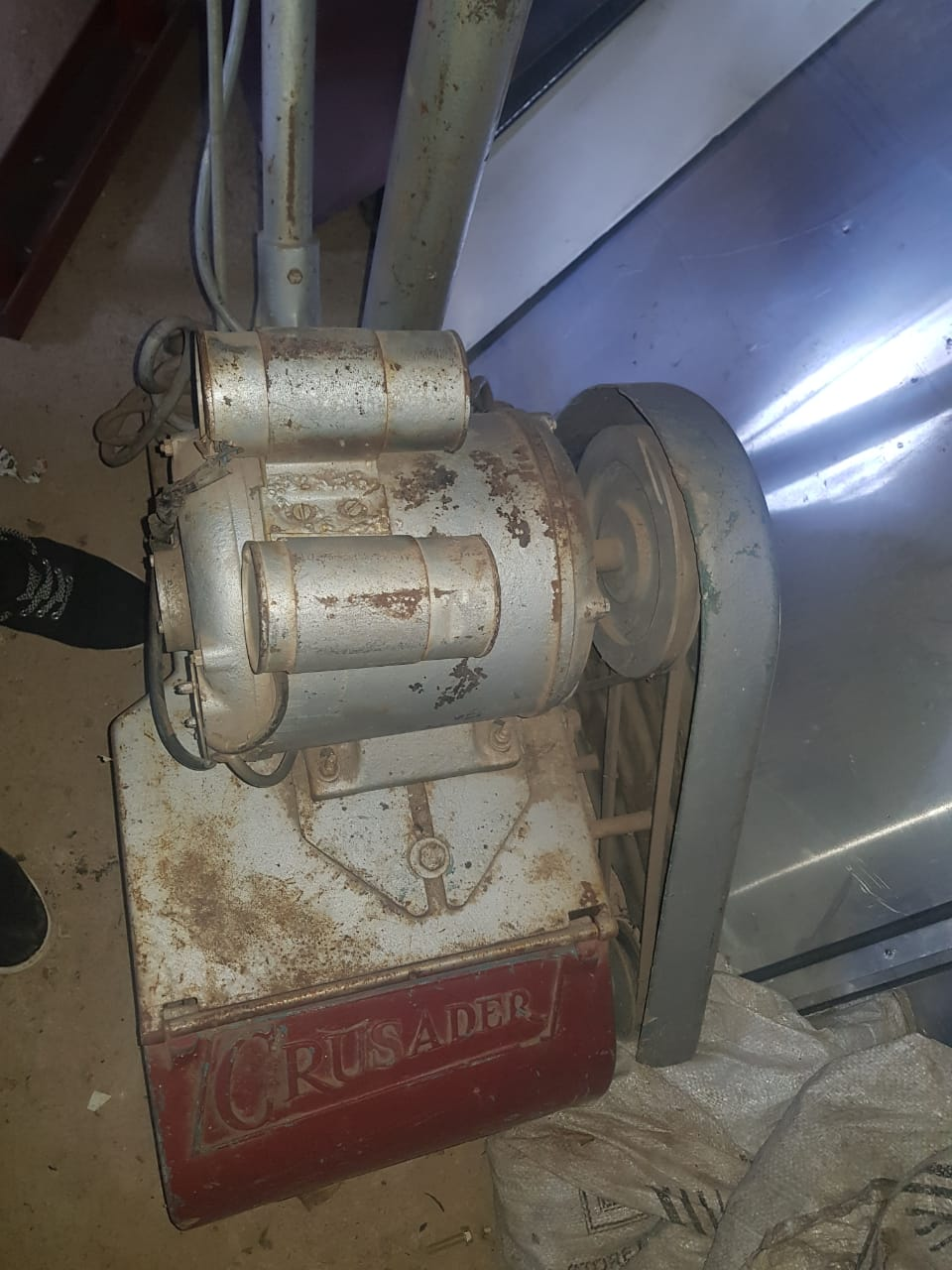 Crusader Wood sanding machine