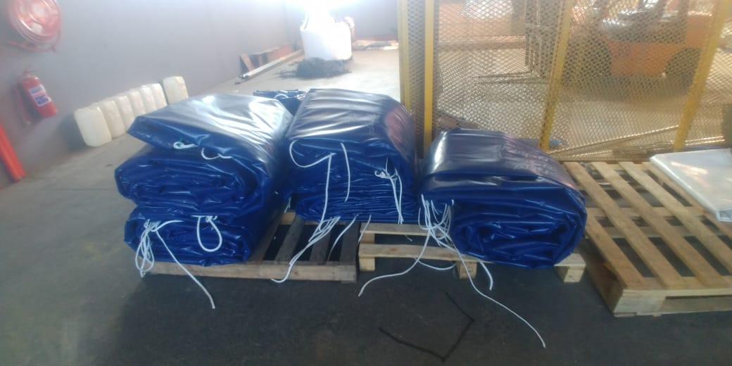 TOP QUALITY PVC TRUCK COVERS/TARPAULINS AND CARGO NETS
