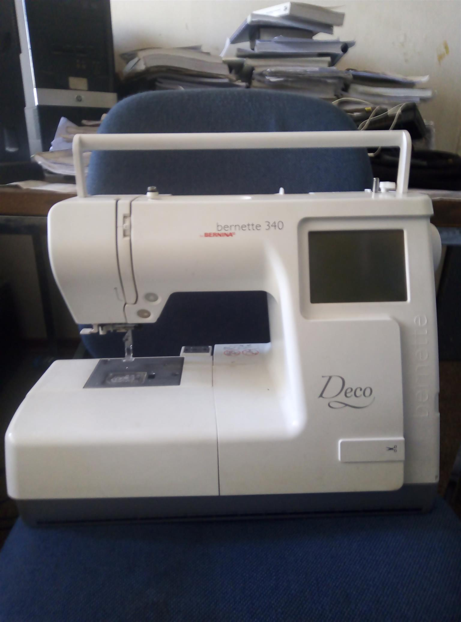 bernina 340 usb compactible embroidery machine for sale