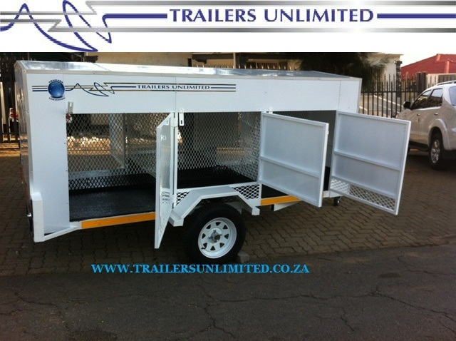 TRAILERS UNLIMITED DOG TRAILERS 2, 4, 6, 8, 10 UNITS.