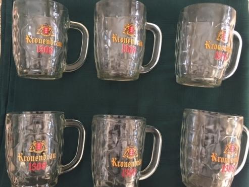 Beer Mugs Kronenbrau