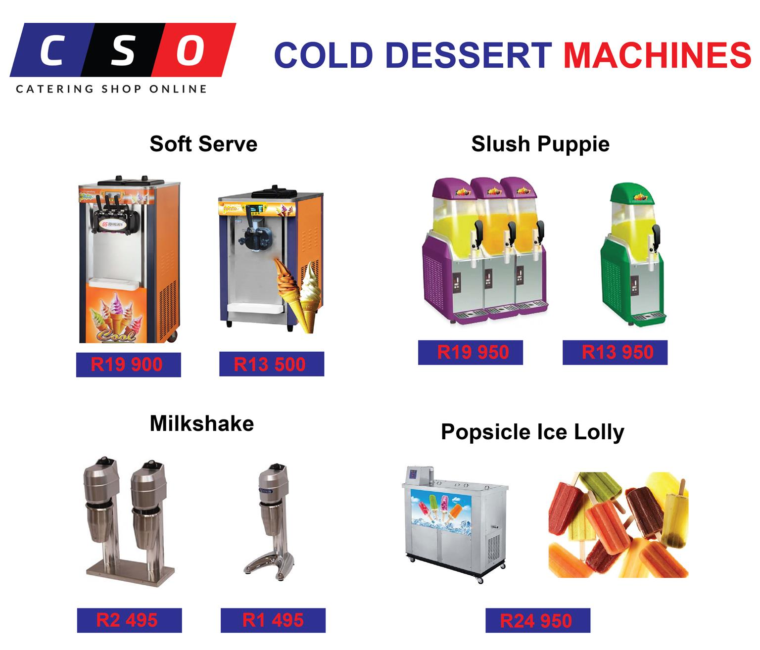 Dessert Machines For Sale