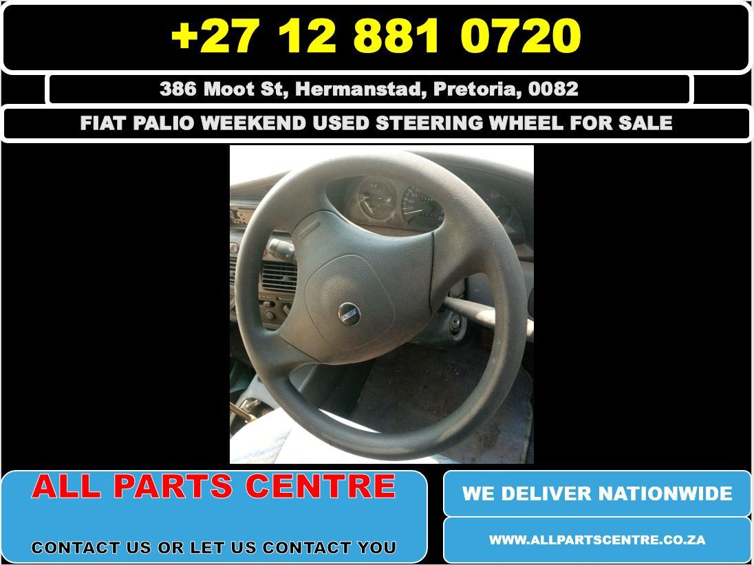Fiat palio weekend used steering wheel for sale