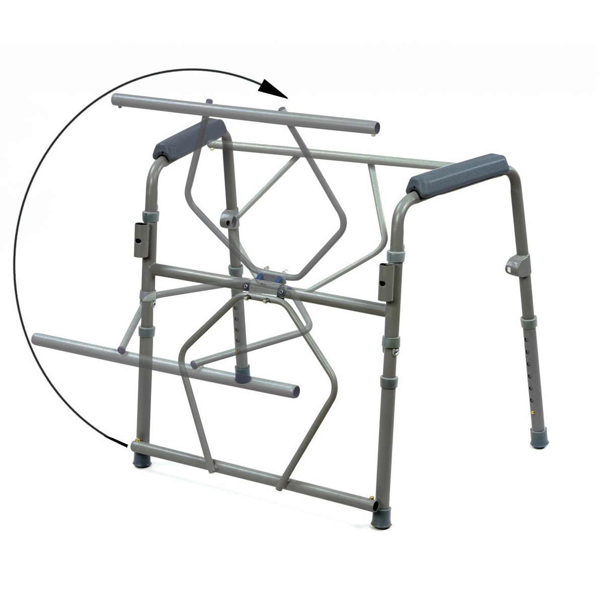 Standard Folding Commode - ON SALE - Now Only R799. While Stocks Last