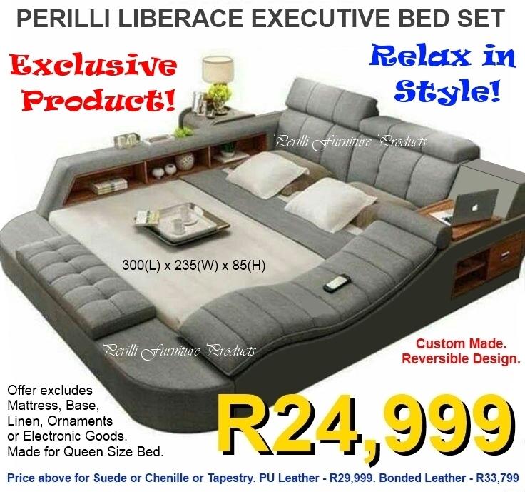 PERILLI LIBERACE Executive Bed Set