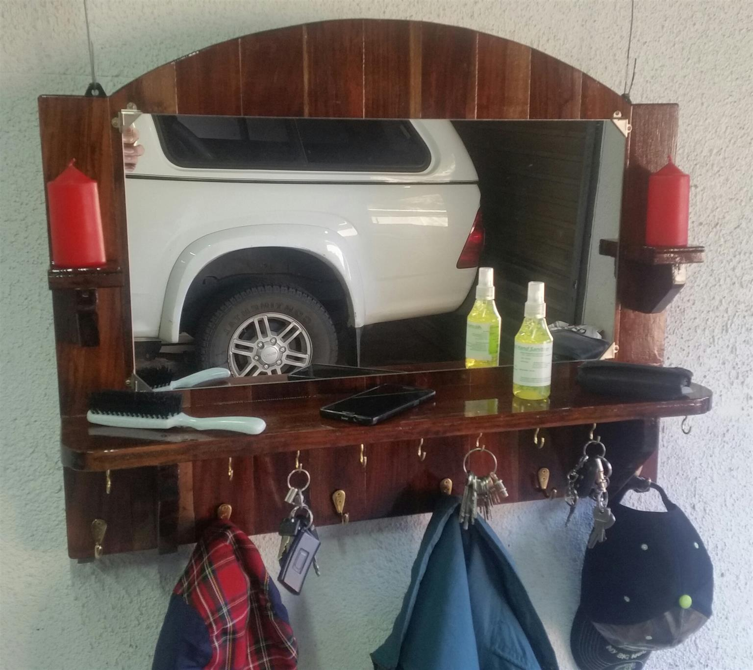Mirror : Hand made - One of a kind