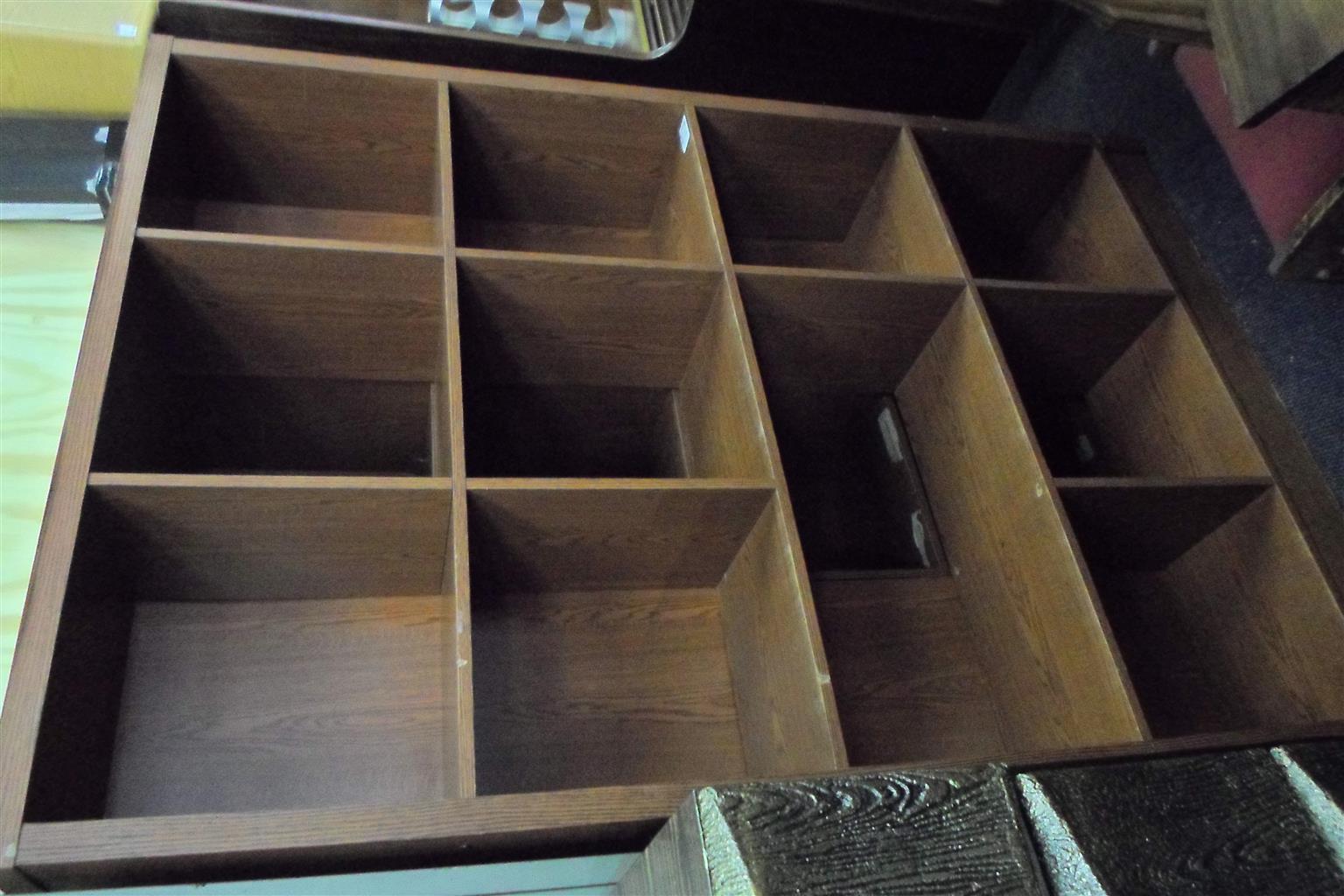 Wooden Bookshelf