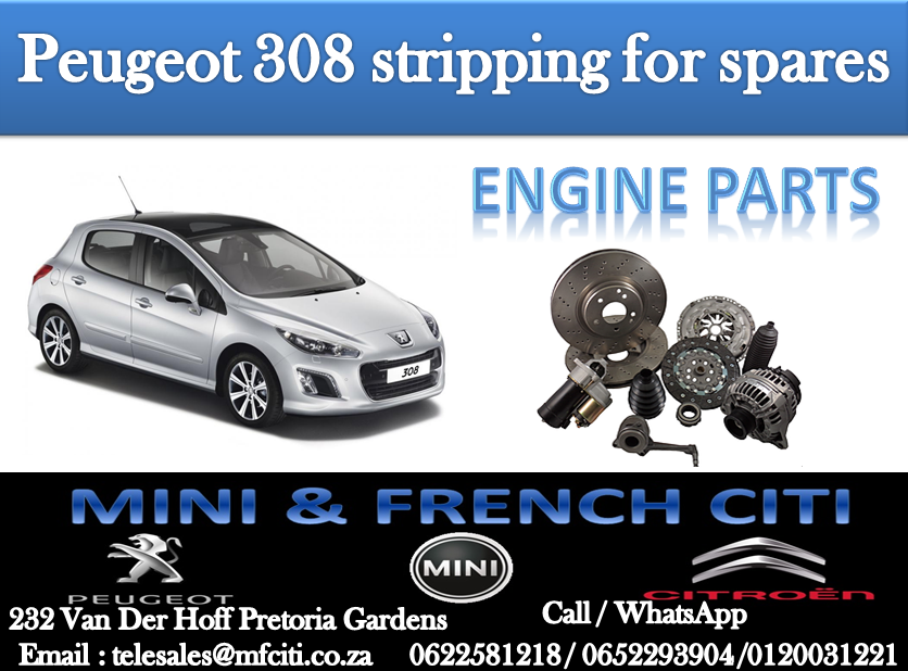 BIG PROMOTION ON PEUGEOT 308 ENGINE PARTS