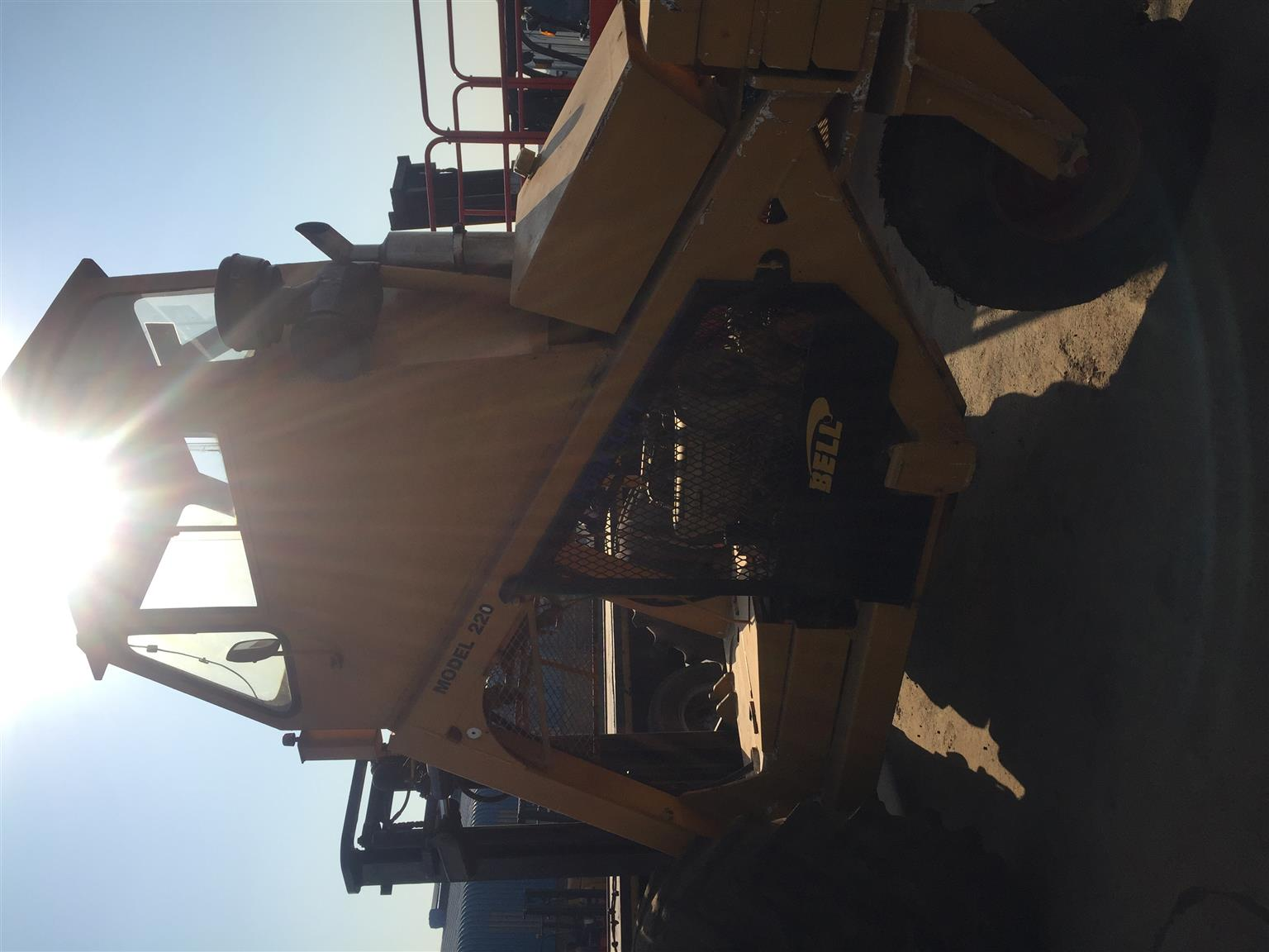 Forklift for sale Bell High rise cab job-297