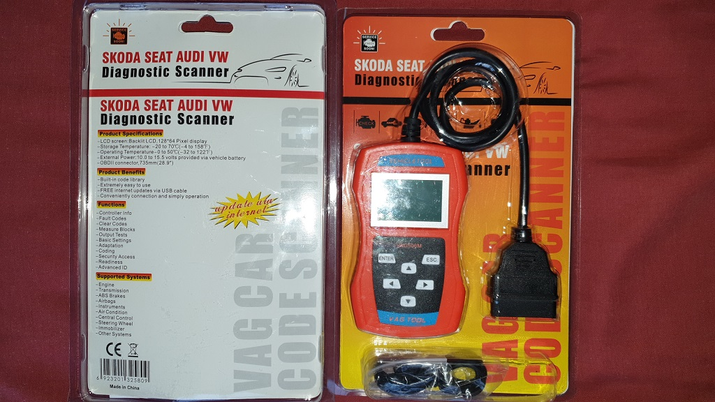 Car diagnostic OBD2 VW Audi scan tool