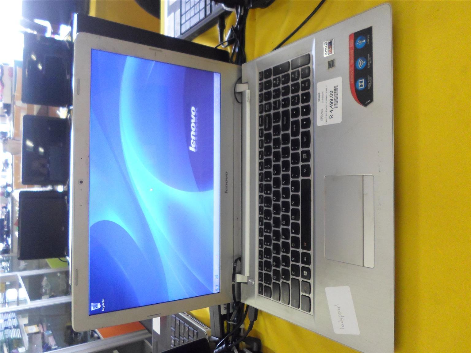 Lenovo Laptop.