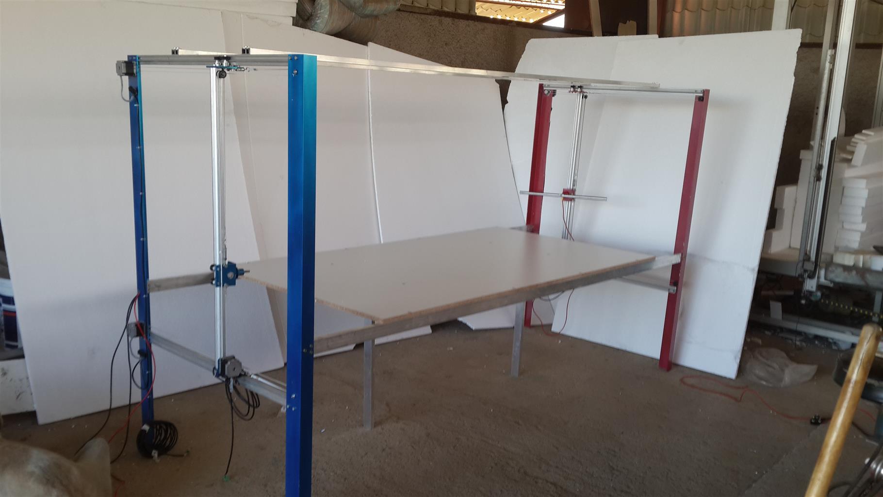 Cornice Cutting Polystyrene CNC Machine | Junk Mail
