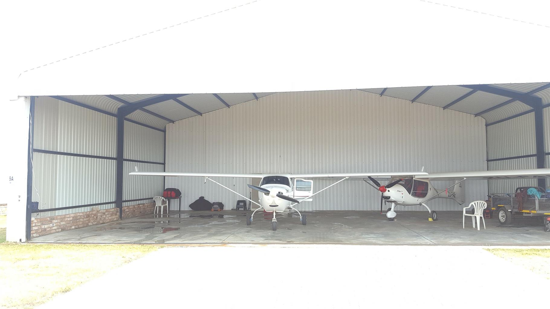 Hangar Space to Rent - Eagle's Creek Centurion