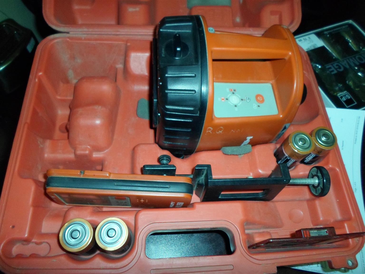Hilti PR16 Laser Equipment + Accessories