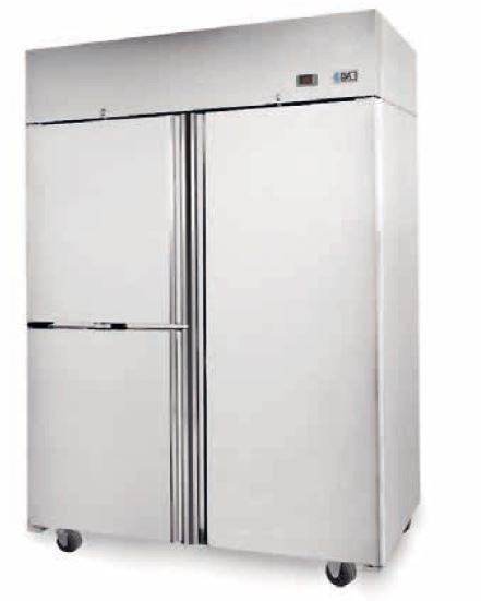 EVO Solid Double Door Freezer