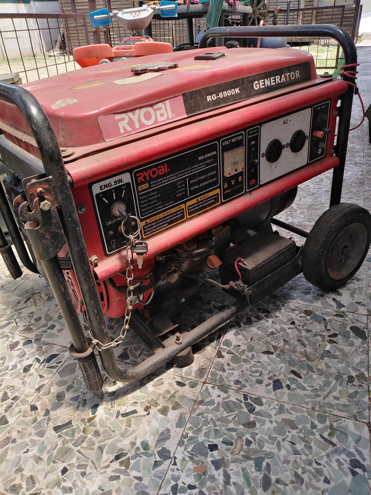 5.5kva generator 6900 watt