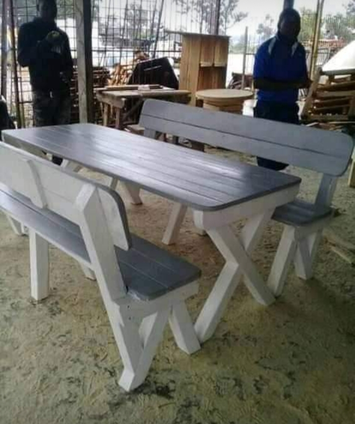 Dinning tables and benches