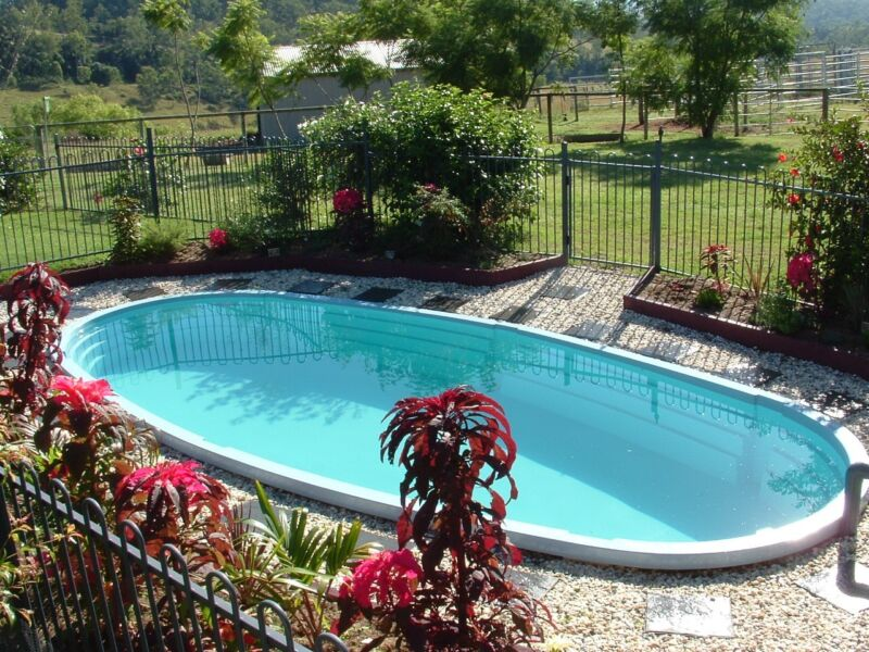 NEW...NEW...NEW...Fibreglass Above Ground Swimming Pool for sale.