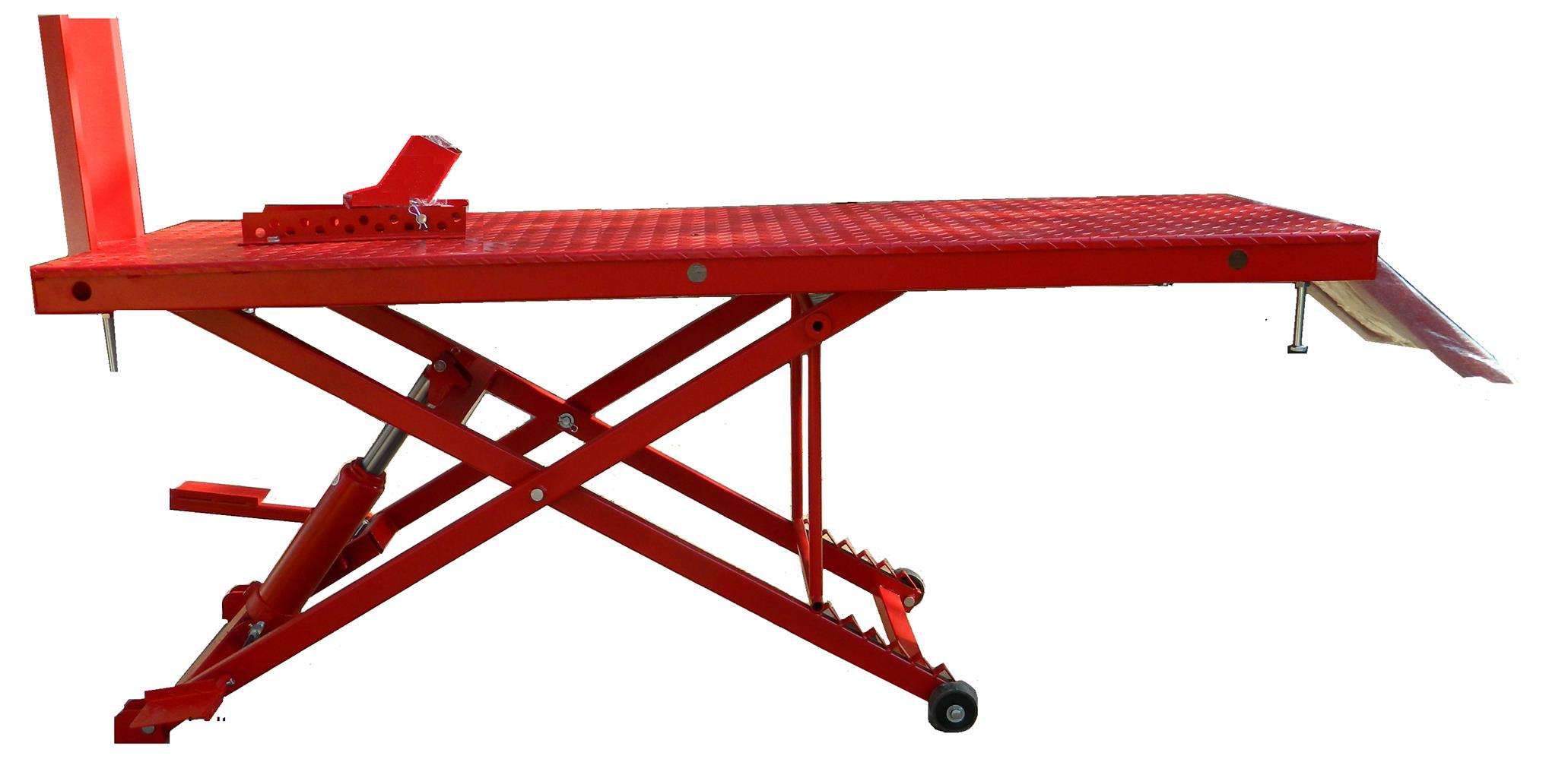 Bike lift / Motorcycle lift hold bikes up to 350kg