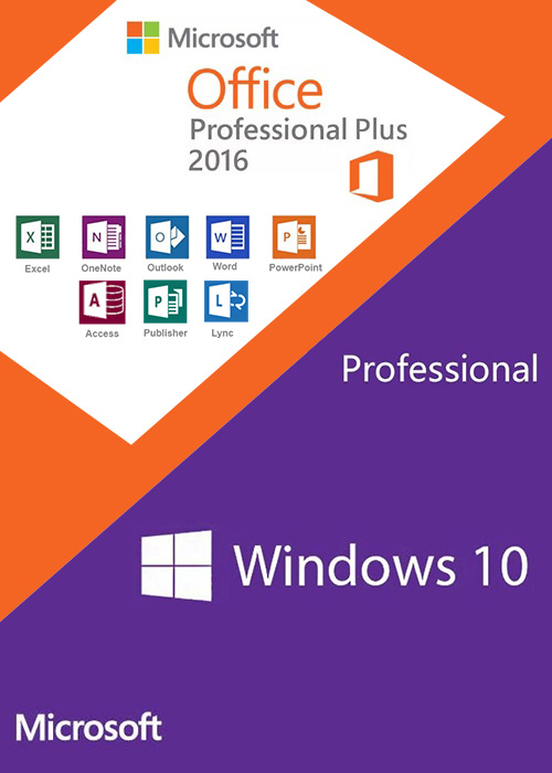 Microsoft Windows 10 and Microsoft office installed done