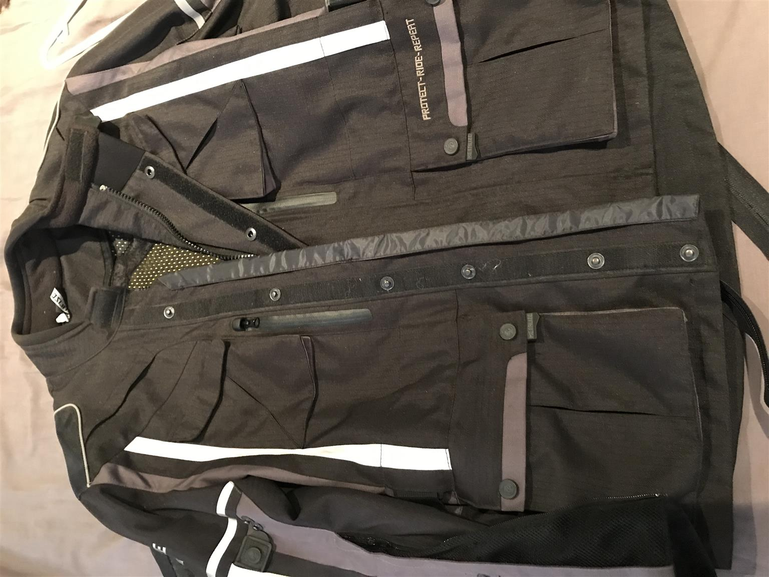 Metalize Bike Jacket with inner size S