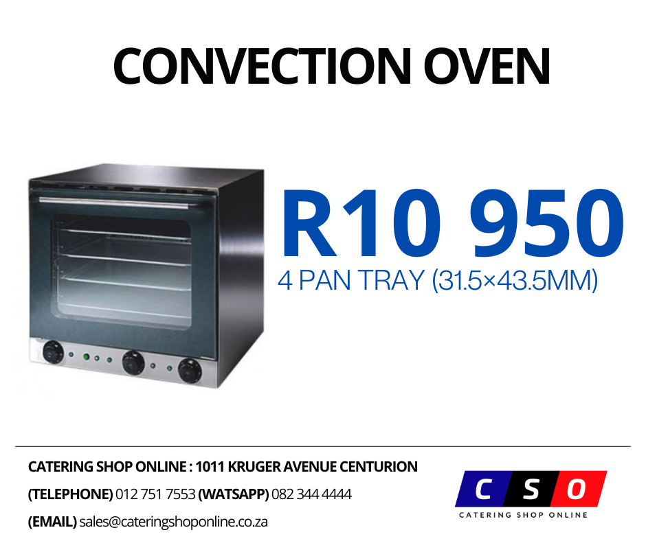 Convection Oven 4 Pan Tray (31.5×43.5mm)