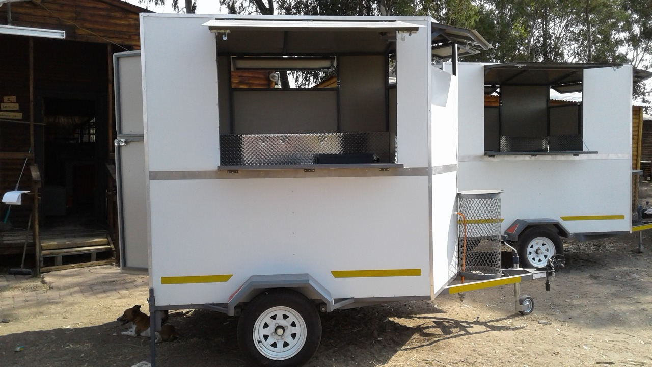 Custom made Trailers, Vending trailer, Food trailers, Mobile Kitchen  trailers, Catering trailers