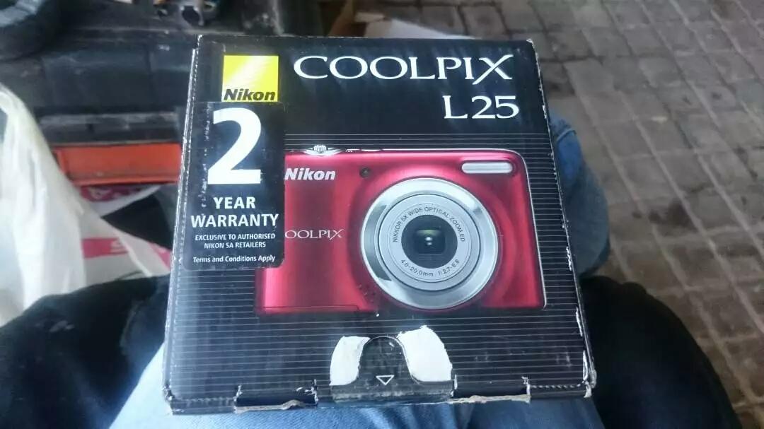 Nikon Coolpix L25 10.1 megapixel camera for sale