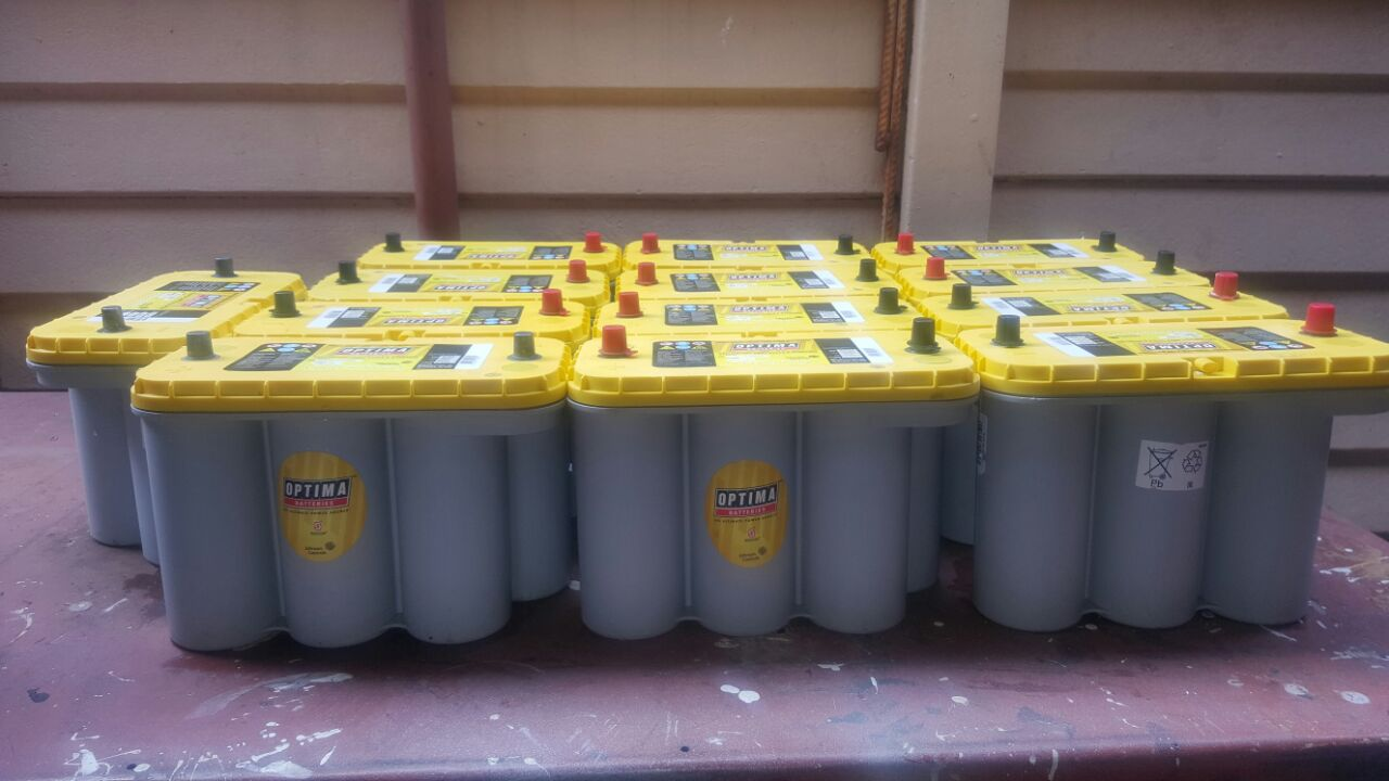 OPTIMA DEEP CYCLE BATTERIES FOR SALE
