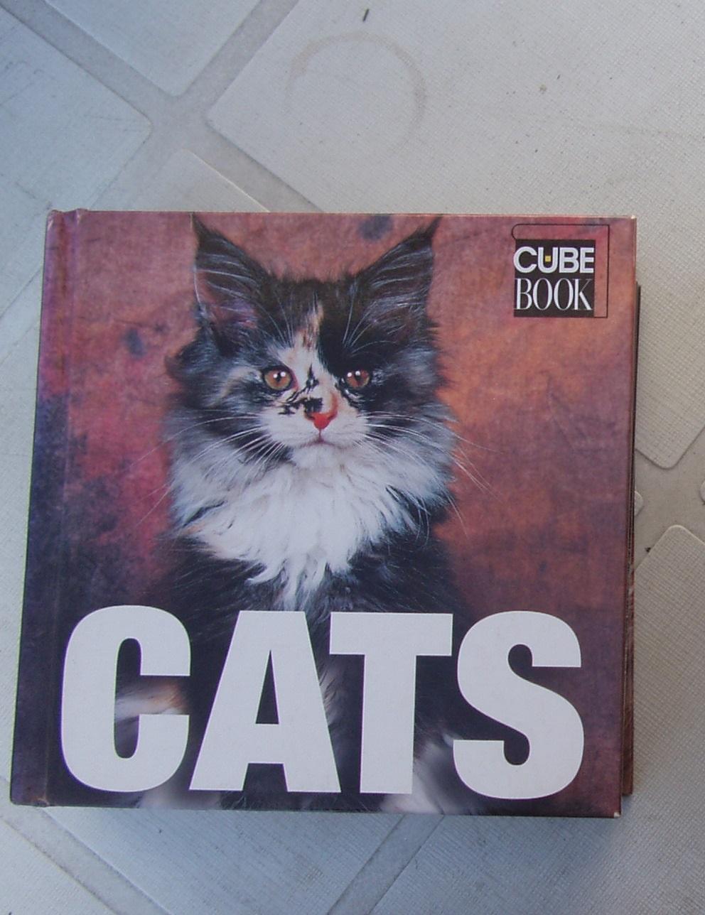 Cats (Cube Books) by Di Trana, Caterina Gromis - Hard cover